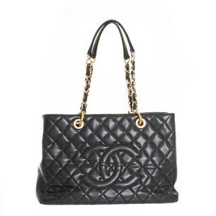 Bolsa-Chanel-Shopper-Preta