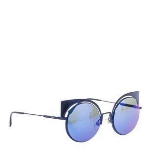 Oculos-Fendi-Lente-Azul-Espelhada