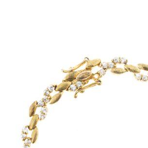 Pulseira-Vintage-Dourada-e-Strass