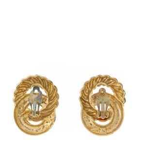 Brinco-de-Pressao-Vintage-Dourado-Circulos-Entrelacados