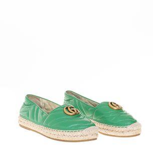 Espadrille-Gucci-Double-G-Verde