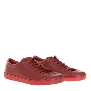 Tenis-Gucci-Couro-Vermelho