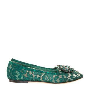 Slipper-Dolce---Gabbana-Vally-Verde-Escuro