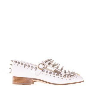 Sapato-Gucci-Rebites-Branco