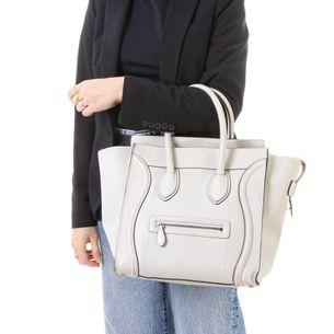 Bolsa-Celine-Luggage-Cinza