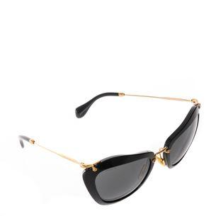 Oculos-Miu-Miu-SMU-10N-55-24-Preto-com-Dourado